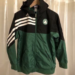 Boston Celtics kids Windbreaker